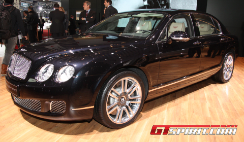 Geneva 2011 Bentley Flying Spur Series 51