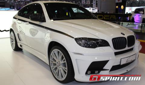 Geneva 2011: BMW X6 Lumma Design CLR X 650