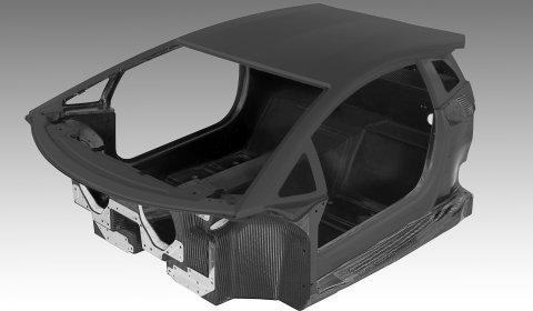 Lamborghini Aventador LP700-4 All-Carbon Fiber Monocoque