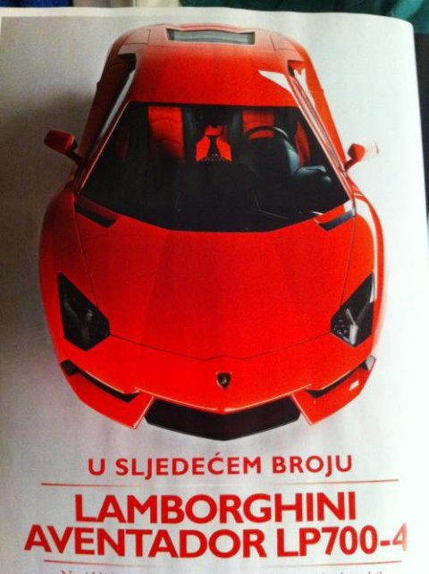 Leaked: This is The 2012 Lamborghini LP700-4 Aventador 01
