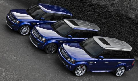 Official 2011 Range Rover Sports by Project Kahn