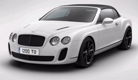 Official 2012 Bentley Continental Supersports Convertible Limited Edition