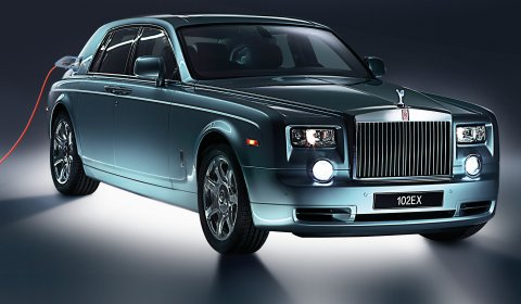 Official Rolls-Royce Phantom Experimental Electric 102EX