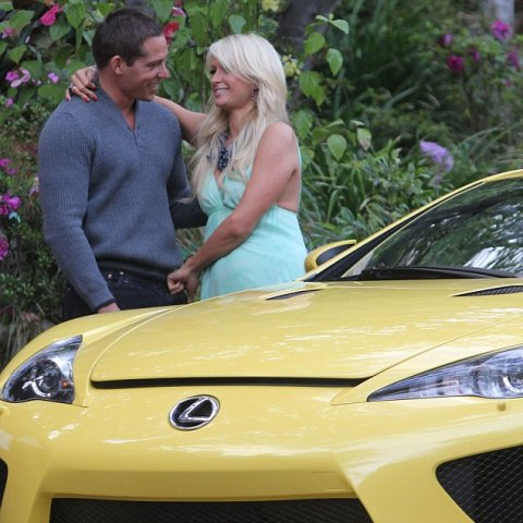 Paris Hilton Receives Lexus LFA as Birthday Gift 01