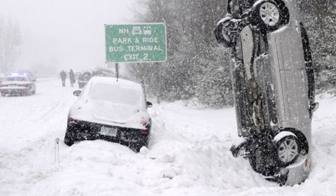 Severe Winter - road accidents - source http://www.gtspirit.com/wp-content/uploads/2011/02/park-in-the-snow.jpg
