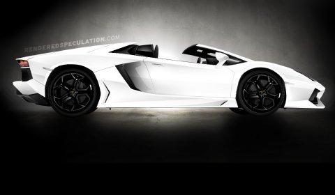 Rendering 2014 Lamborghini LP700-4 Aventador Roadster