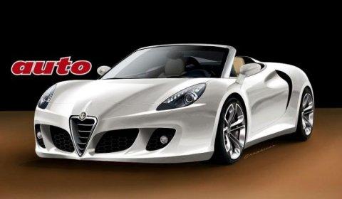 Rendering Alfa Romeo 4C Spyder