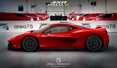 Rendering Ferrari 458 Italia XX