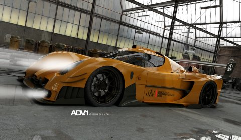 Rendering Jon Olsson and ADV.1 Plan Ultima GTR Project