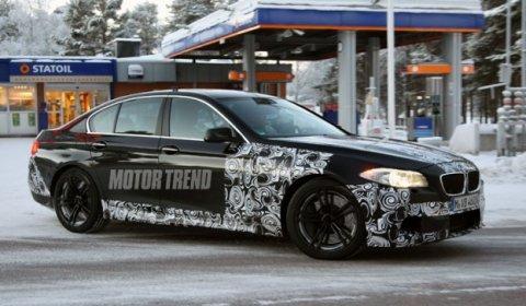 Spyshots BMW F10 M5