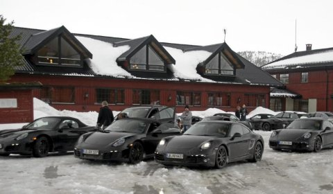 Spyshots Porsche Spotted Winter Testing New Models