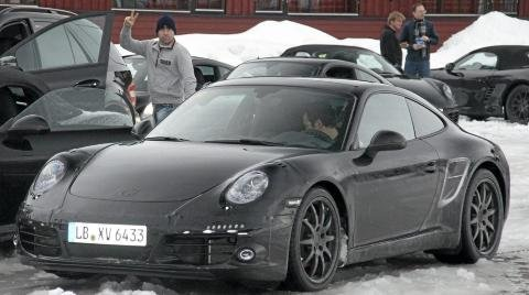 Spyshots Porsche Spotted Winter Testing New Models 01