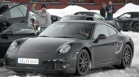 Spyshots Porsche Spotted Winter Testing New Models 01