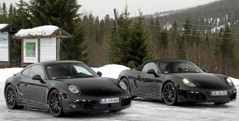 Spyshots Porsche Spotted Winter Testing New Models 02