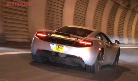 Video AutoCar Drives the McLaren MP4-12C