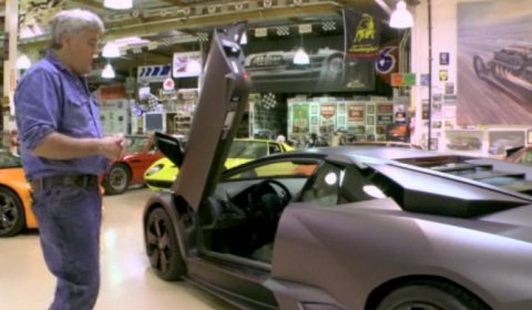 Video Jay Leno's Garage Lamborghini Reventon