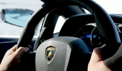 Video Lamborghini LP700-4 Aventador Shows Interior