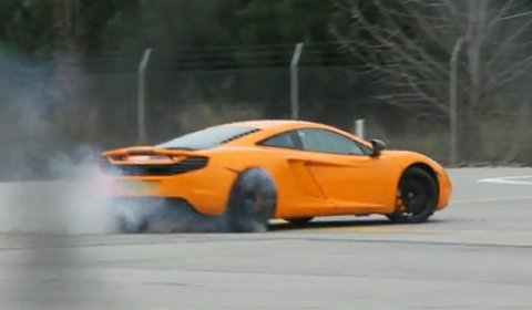 Video Lewis Hamilton Flogs The McLaren MP4-12C
