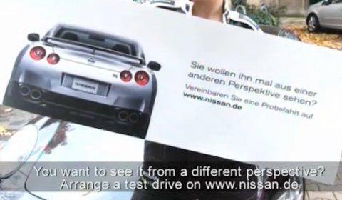 Video Nissan GT-R Porsche Killer Marketing in Germany