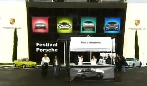 Video Porsche Festival at Le Mans Circuit July 2011