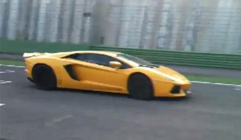 Lamborghini Aventador LP700-4 Vallelunga Race Track
