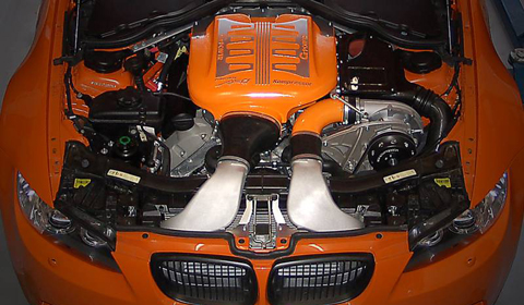 G-Power M3 GTS Engine