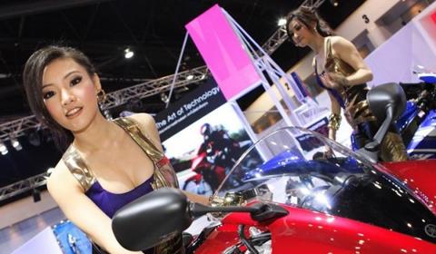Girls Bangkok Motor Show