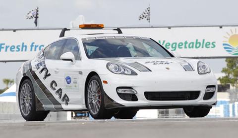 Porsche Panamera Safety Car