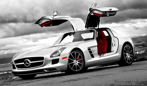 Photo of the Day Mercedes SLS AMG