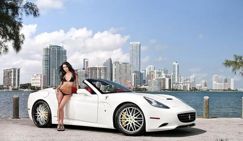 Savini Wheels Ferrari California
