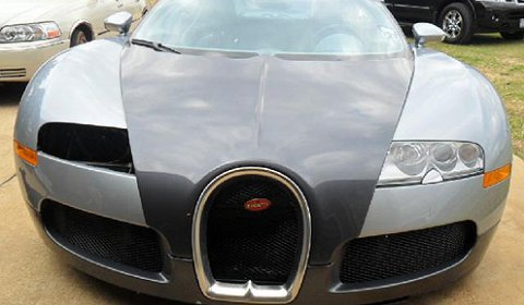 Bugatti Veyron That Crashed in A Lake Now Up For Sale