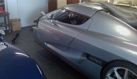 Car Crash Koenigsegg CCXR Head-on Collision 02