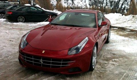Ferrari FF Live Photos in The Mountains 01