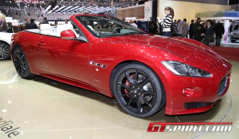 Geneva 2011: Maserati GranCabrio Sport