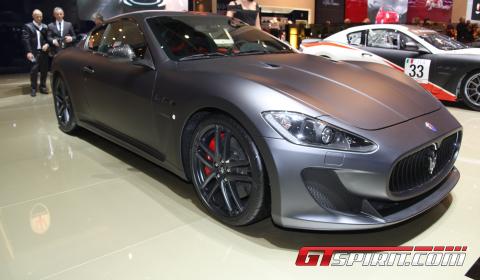 Maserati+granturismo+mc+stradale+black