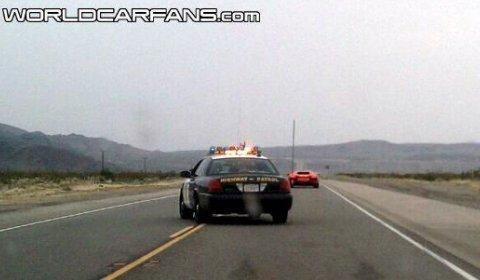 Lamborghini LP700-4 Aventador Spotted in California