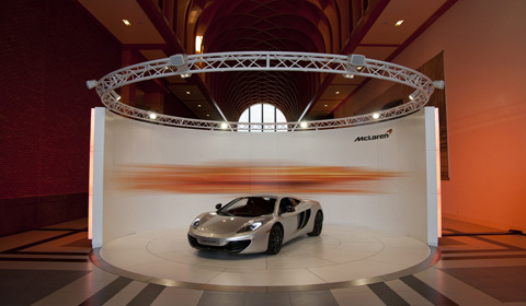 McLaren MP4-12C at the Louwman Museum in The Hague