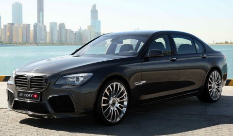 Official: Mansory BMW F01 7 Series