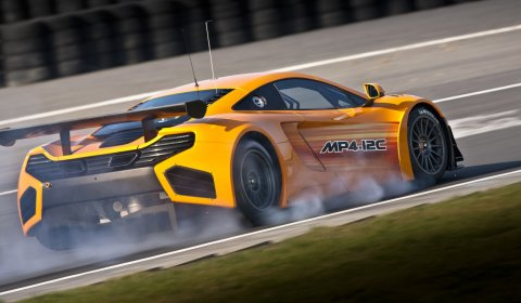 Official McLaren MP4-12C GT3 Racer