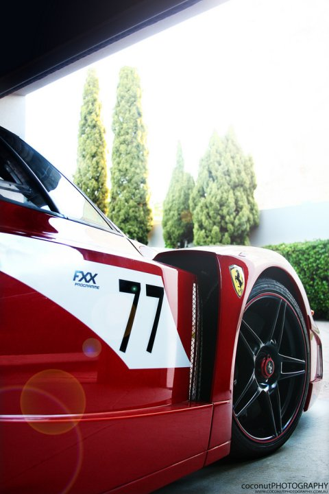 Photo Of The Day Ferrari FXX Evoluzione 01