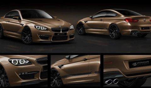 Preview 2012 BMW 6 Series Coupe by Prior Design
