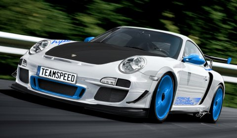 Rendering Porsche 911 GT3 RS 4.0 Limited Edition