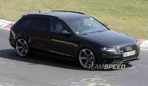 Audi Rs4 Avant 2011. Spyshots New Audi RS4 Avant at