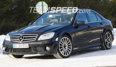 Spyshots Next Generation Mercedes-Benz C63 AMG Black Series