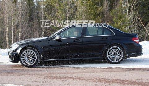 Spyshots Next Generation Mercedes-Benz C63 AMG Black Series 01