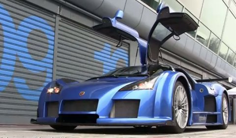 Video 800hp Gumpert Apollo Lapping Monza