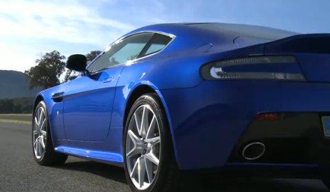 Video Aston Martin V8 Vantage S - Ascari Race Resort Footage