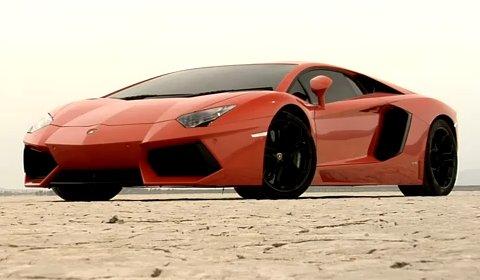 Video Behind The Scenes 2012 Lamborghini Aventador LP700-4 Commercial