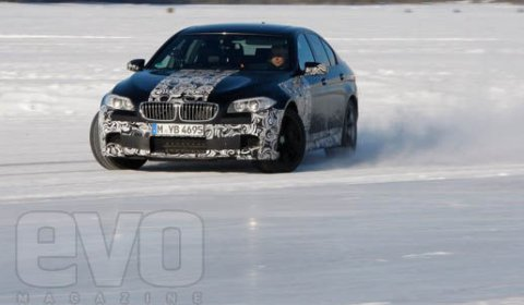 Video BMW M5 Pre-Production First Drive by Chris Harris