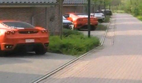 Video Dutch Ferrari Club Had a Nice Weekend Out
